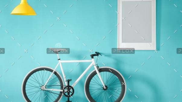 demo-attachment-45-white-bike-in-blue-interior-PMNFYVU