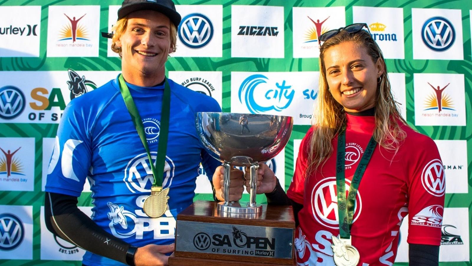 Volkwagen SA Open Of Surfing_Ian Thurtell_ Mens and Women winners - Copy
